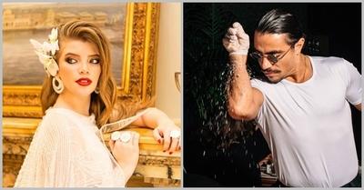 En Dubái: Sol Cartes conoció un meme en carne y hueso