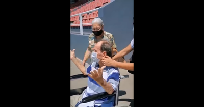 Conmovedor video del abuelo que conoció la Nueva Olla