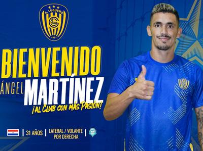 Ángel Martínez recala en el Sportivo Luqueño