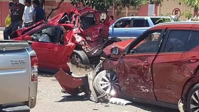 """Afectado en el múltiple choque habló con el conductor del tractocamión: """"Le dije 'mataste mi vehículo y mi trabajo"""""""