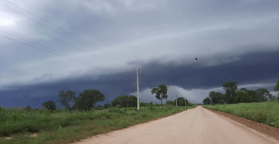 Alerta: Lluvias intensas con tormentas eléctricas
