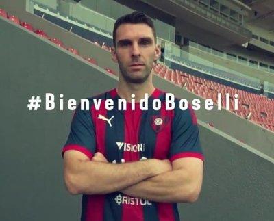 Cerro Porteño da la bienvenida a Mauro Boselli