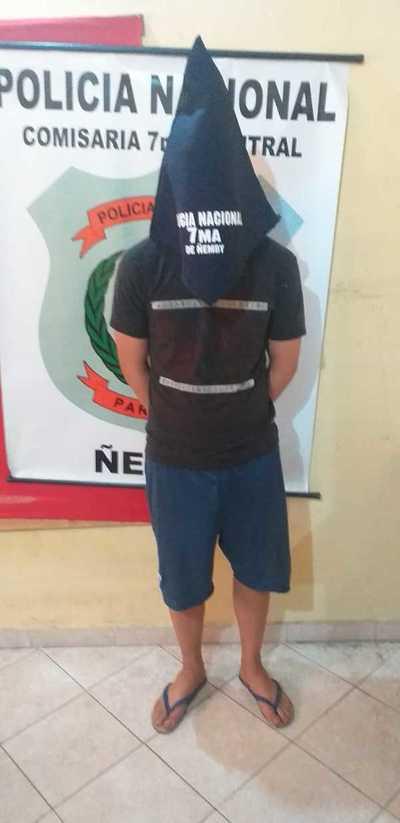 Ñemby: Detienen al sospechoso de profanar la imagen de la Virgen