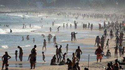 Unos 4.000 compatriotas ya fueron de vacaciones a Brasil