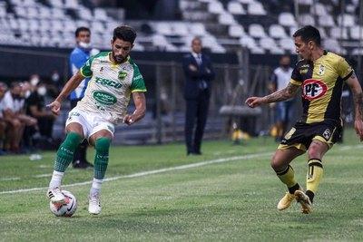 En cancha de Olimpia, Coquimbo Unido y Defensa y Justicia igualan sin goles