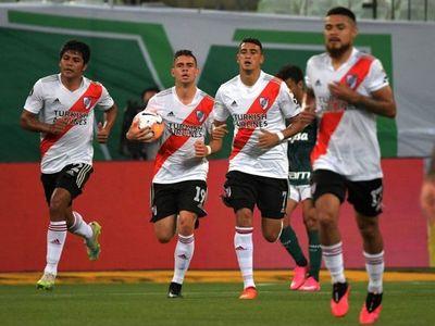 El gol de Rojas no alcanzó y Palmeiras es el primer finalista