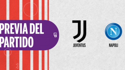 Por la Fecha 3 se enfrentarán Juventus y Napoli