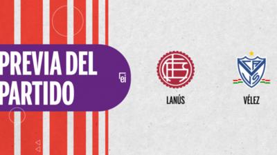 Por la Semifinal 1 se enfrentarán Lanús y Vélez