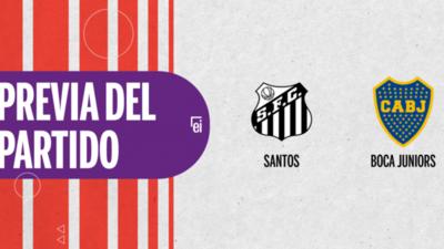 Santos recibirá  a Boca Juniors por la Semifinal 1