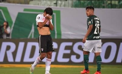 HOY / Palmeiras resiste la presión de River y clasifica para su quinta final