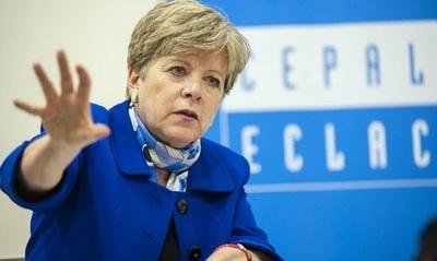Alicia Bárcena: «La amenaza que encaramos no se resuelve desde el mercado»