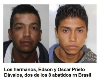 Al final los 8 abatidos en Brasil eran paraguayos