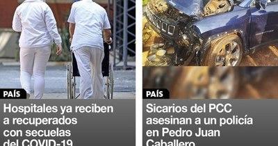 La Nación / Destacados de la mañana del 13 de enero
