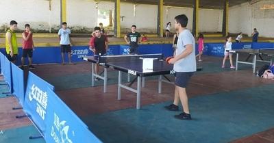 Escuela de Tenis de Mesa desarrolla habilidades deportivas en niños, adolescentes y jóvenes de Eusebio Ayala