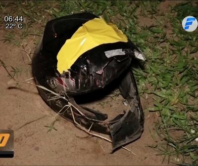 Motociclista fallece tras caer a una zanja