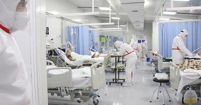 La Nación / Continúa la alta ocupación en hospitales a causa del COVID-19