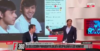 Burla y xenofobia de periodistas argentinos con los Romero