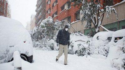 Madrid registró una temperatura mínima record de