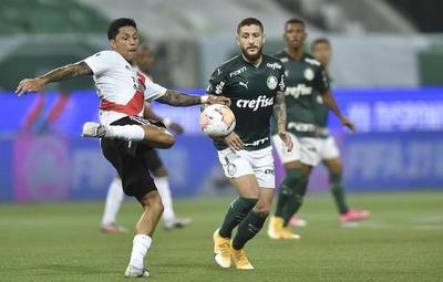 River ganó, pero Palmeiras pasó a la final de la Libertadores
