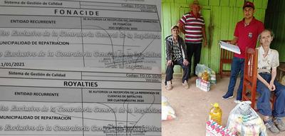 Repatriación: La asistencia del gobierno municipal llegando a familias