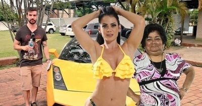 Pamela Rodríguez y Ña Tora pasearán en el Lamborghini de Ruan