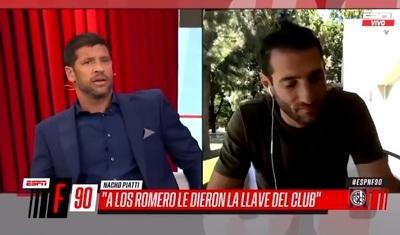 """Exfutbolista recomienda """"cachetazos a mano abierta"""" para los Romero"""