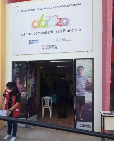 """Inauguran """"Espacio seguro para adolescentes"""" en el barrio San Francisco"""