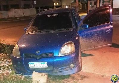 Capturan en Luque a presunto delincuente que planeaba asaltos a comercios •