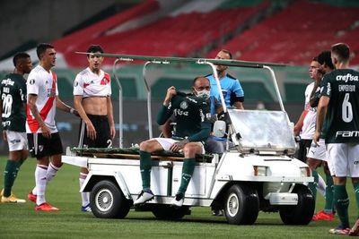 Gustavo Gómez sufrió una lesión en la ingle izquierda