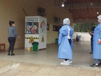 Covid-19; Dos fallecidos y 82 nuevos casos en el departamento del Caaguazú – Prensa 5