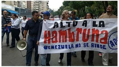Venezuela: Docentes convocan protesta nacional