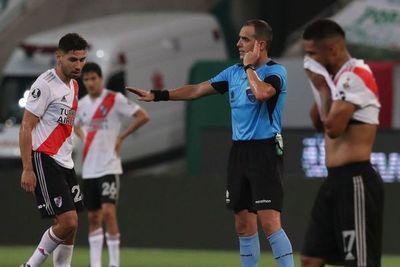El VAR en el Palmeiras-River Plate