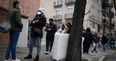La Nación / Récord en España: casi 39.000 casos diarios de COVID-19