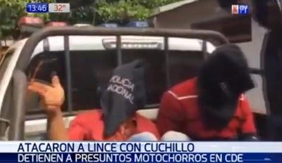 Detenidos atacan a agentes del Grupo Lince en Presidente Franco