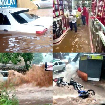 Desagüe pluvial en CDE: deuda histórica del municipio con los esteños
