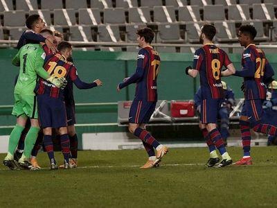 El Barcelona se clasifica para la final en los penales