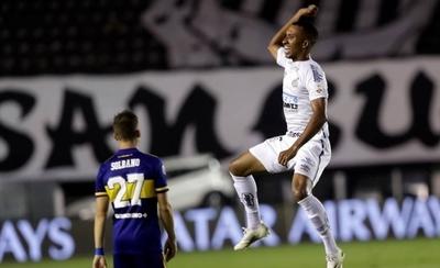 HOY / Santos golea a Boca y jugará final brasileña con Palmeiras