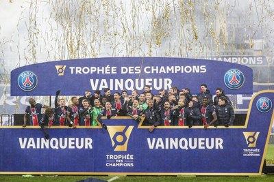 El PSG conquista el 'Trofeo de Campeones' tras vencer al Marsella