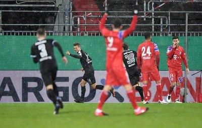 Un equipo de la segunda división 'borra' al Bayern Múnich de la DFB Pokal