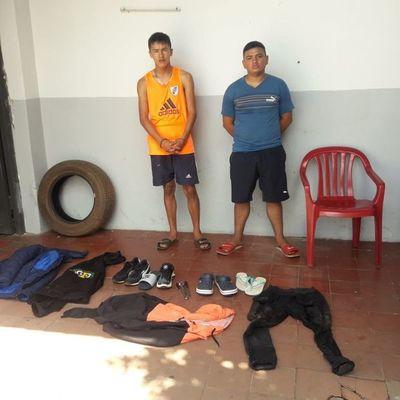 Detienen a tres jóvenes que habrían participado de hurto de celulares
