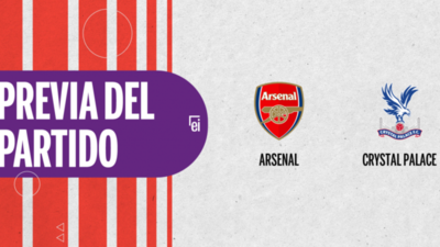Arsenal quiere seguir su racha positiva ante Crystal Palace