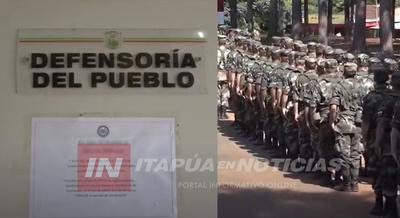 OFICINA DE LA DEFENSORÍA DEL PUEBLO CERRADA EN ITAPÚA.