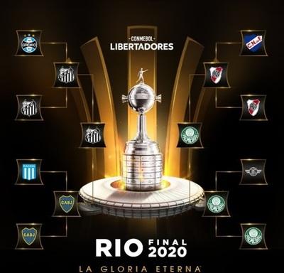 Santos-Palmeiras en la cita por la gloria en la  Libertadores