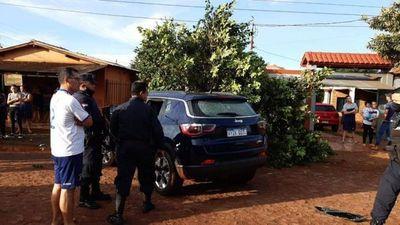 Senabico: Lujosa camioneta en poder de policía asesinado no sería ilegal, pero si irregular