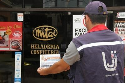 Tributación realizó controles a negocios nocturnos de San Bernardino en Cordillera
