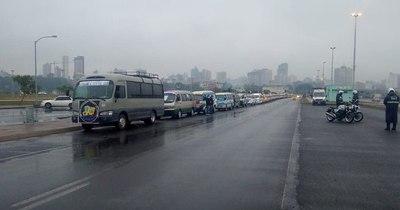 La Nación / Transportistas escolares piden aprobación de protocolo para volver a trabajar desde marzo