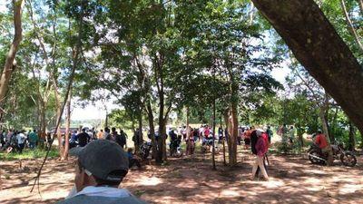 Maracaná: Enfrentamiento entre campesinos y guardias privados deja dos heridos