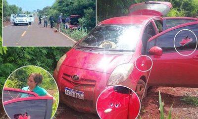 Acribillan un vehículo para robar dinero a comerciantes, en Santa Rosa del Monday – Diario TNPRESS