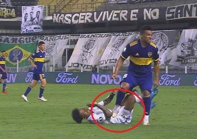 Fabra aplicó criminal pisotón ante Santos