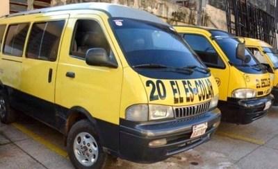 Gremio de Transportistas Escolares solicitaron a Mazzoleni protocolo sanitario a fin de operar este año